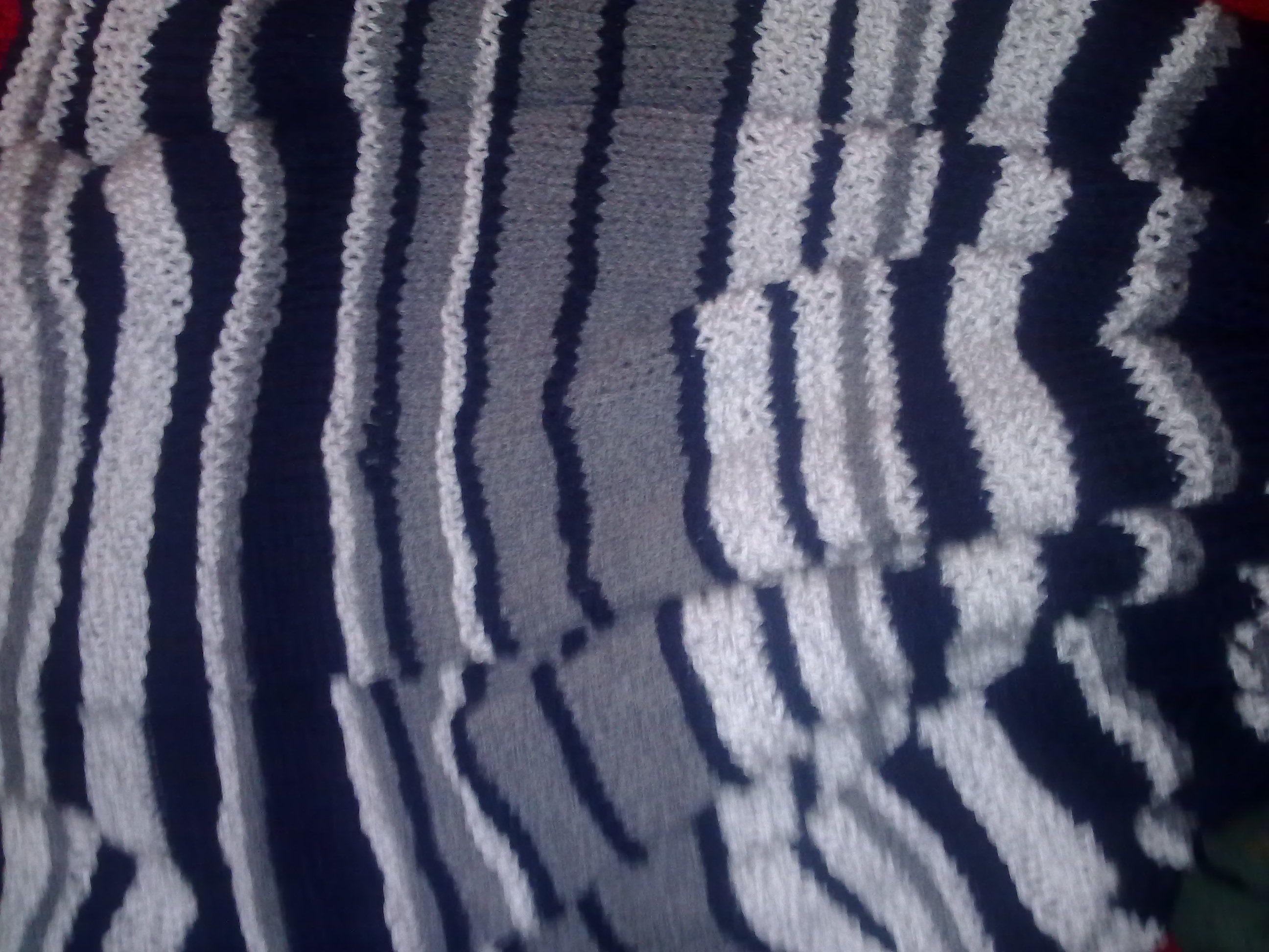 Knitted Afgan
