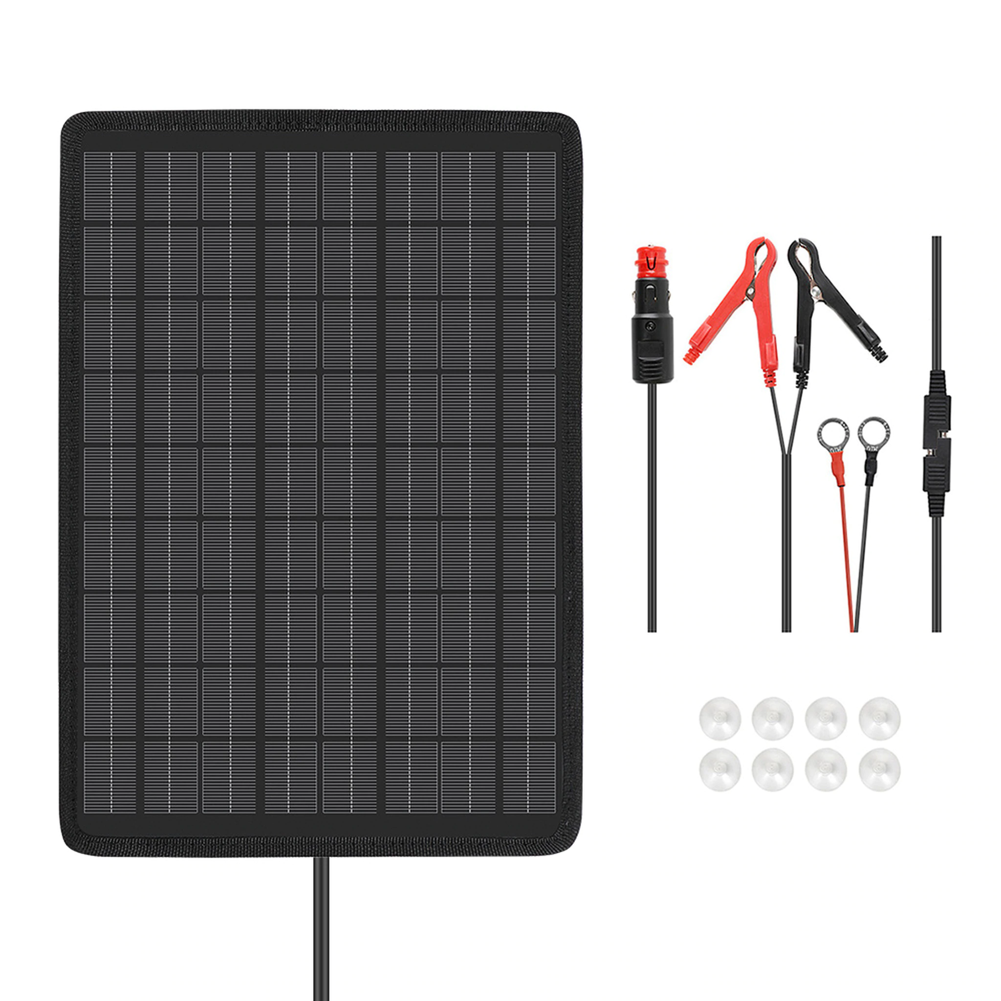 10w Solar Battery Trickle Charger Maintainer Solar Battery Charger Battery