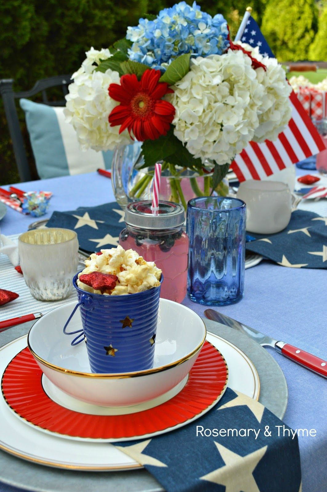 patriotic tablescape lenox dinnerware tablescapes table rh pinterest com