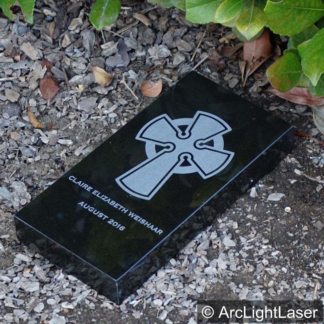 Granite Memorial Brick Custom Memorial Brick Laser Engraved Etsy Custom Memorial Granite Memorial Laser Engraving