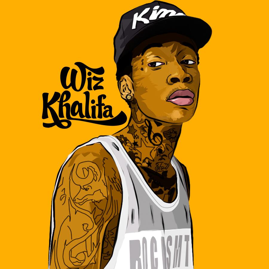 Wiz Khalifa I71ock Jpg 900 900 Pixels Morenas Avatares Ilustracoes