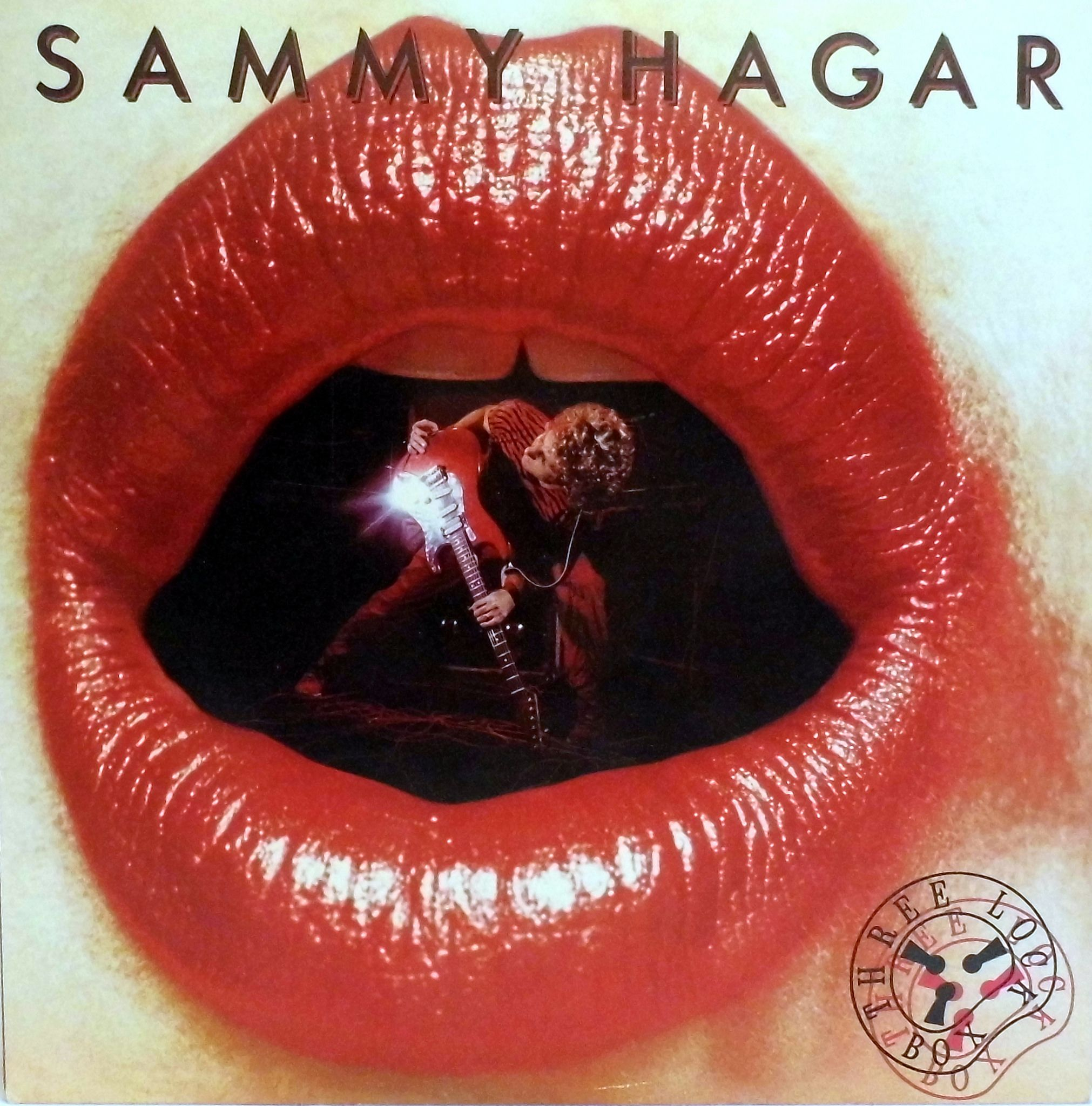 Vintage Lp Vinyl Record Collection Three Lock Box Album By Sammy Hagar Catalog Number Ghs 2021 Geffen Records Copyright 1982 Rock Album Covers Sammy Hagar Classic Rock Albums