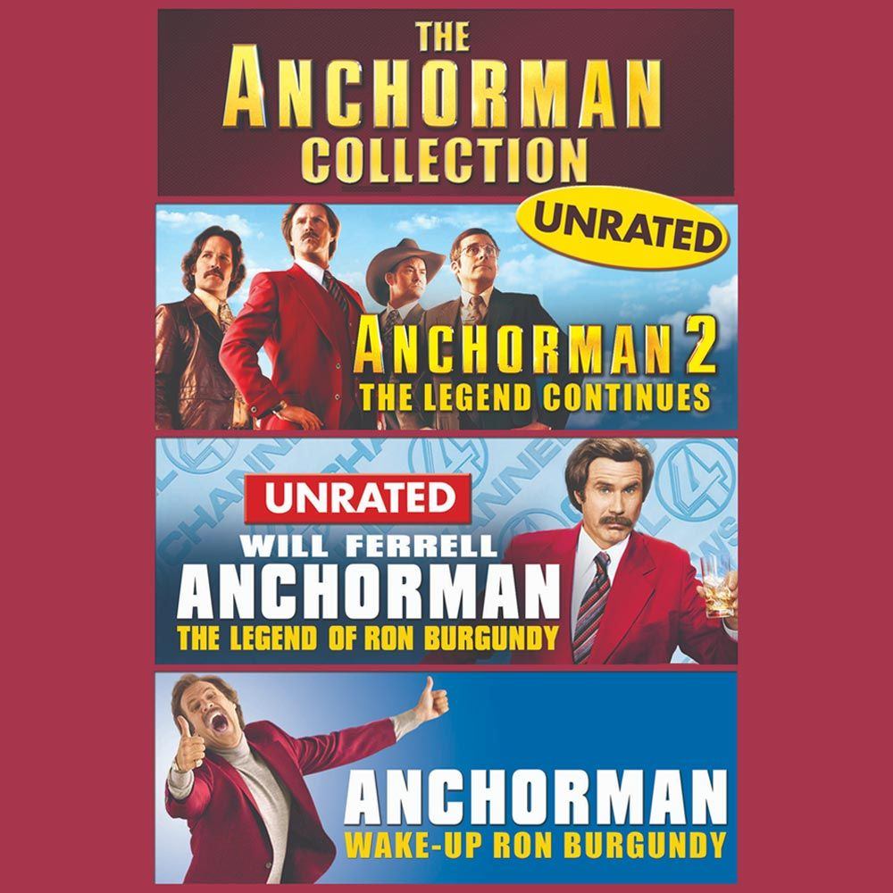 Anchorman Collection In 2021 Anchorman Lost Movie Movies