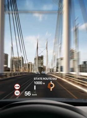 BMW 3 Series Touring with Head-Up Display