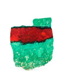 Lapidary Art:Carvings, SONORA SUNSET SLAB. Milpillas Mine. Sonora.Mexico. 4.33 x 3.74 x 0.21 inches (11 x 9.5 x 0.55cm). ...