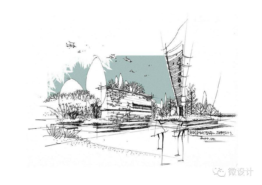 Sketch 12 Landscape Architecture Graphics Architecture Sketch Architecture Illustration