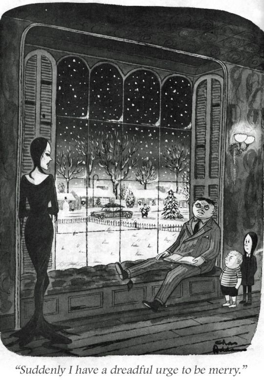 Quot The Addams Family Quot Cartoon New Yorker Magazine Charles