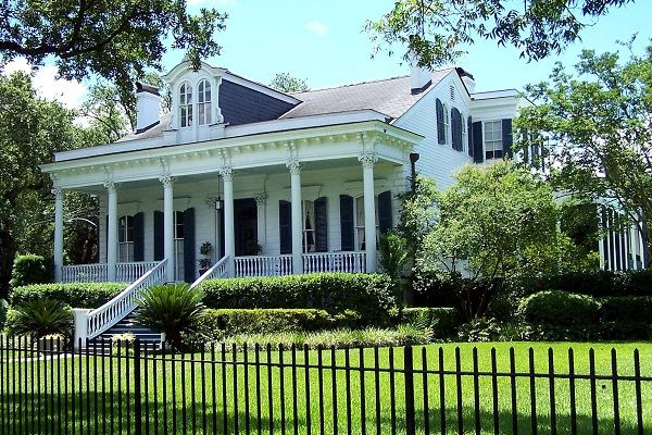 Types of Houses in New OrleansRaised Center Hall Cottage or Villa   American Architectural  . New Orleans Creole Cottage House Plans. Home Design Ideas