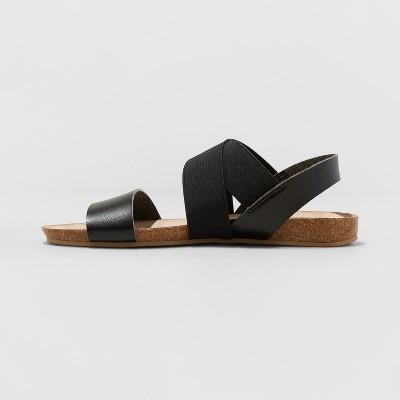 d8c6e7168 Women's Kerryn Footbed Sandals - Universal Thread Black 12 in 2019 ...