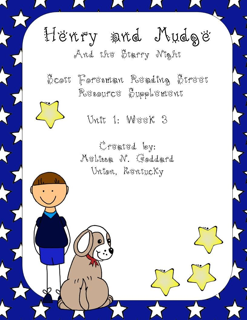 Henry And Mudge Supplemental Packet Reading Street Grade 2 Http Www Teacherspayteachers Com Reading Street Scott Foresman Reading Street 2nd Grade Reading Reading street grade firefighter