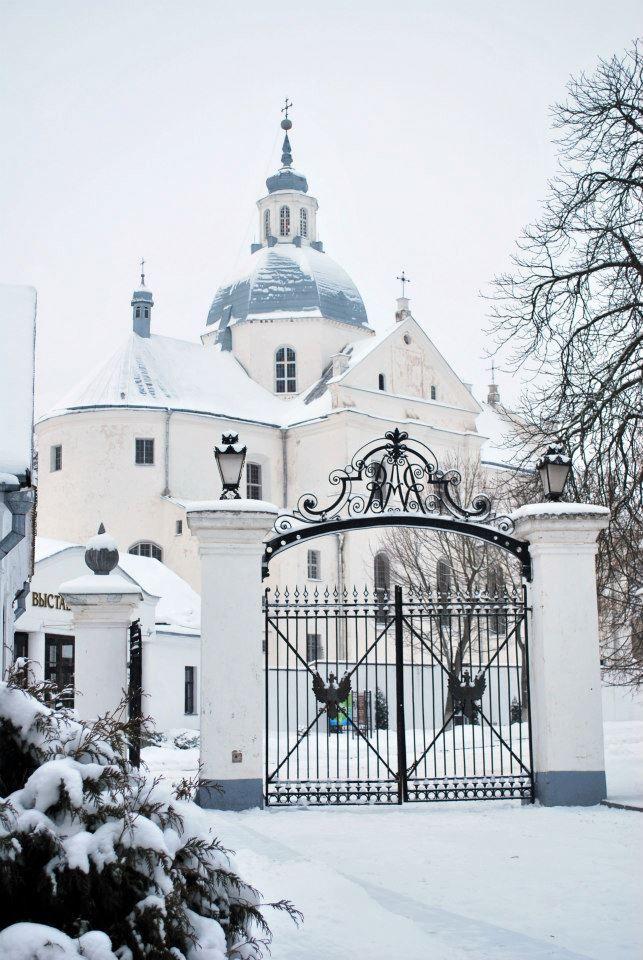 Chiesa parrocchiale Corpus Domini a Niasvizh, 1589-1596, arch. Giovanni Maria Bernardoni, detto Bernardone.