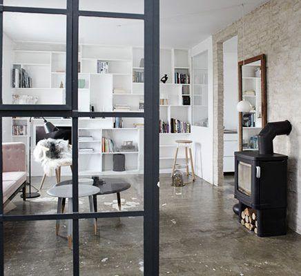 De woonkamer met de mooie boekenkast | Coffee | Pinterest | Coffee