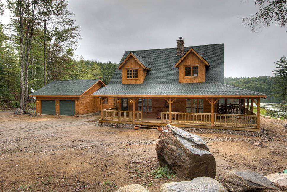 Beaver Run Log Home Floor Plan by 1867 Confederation