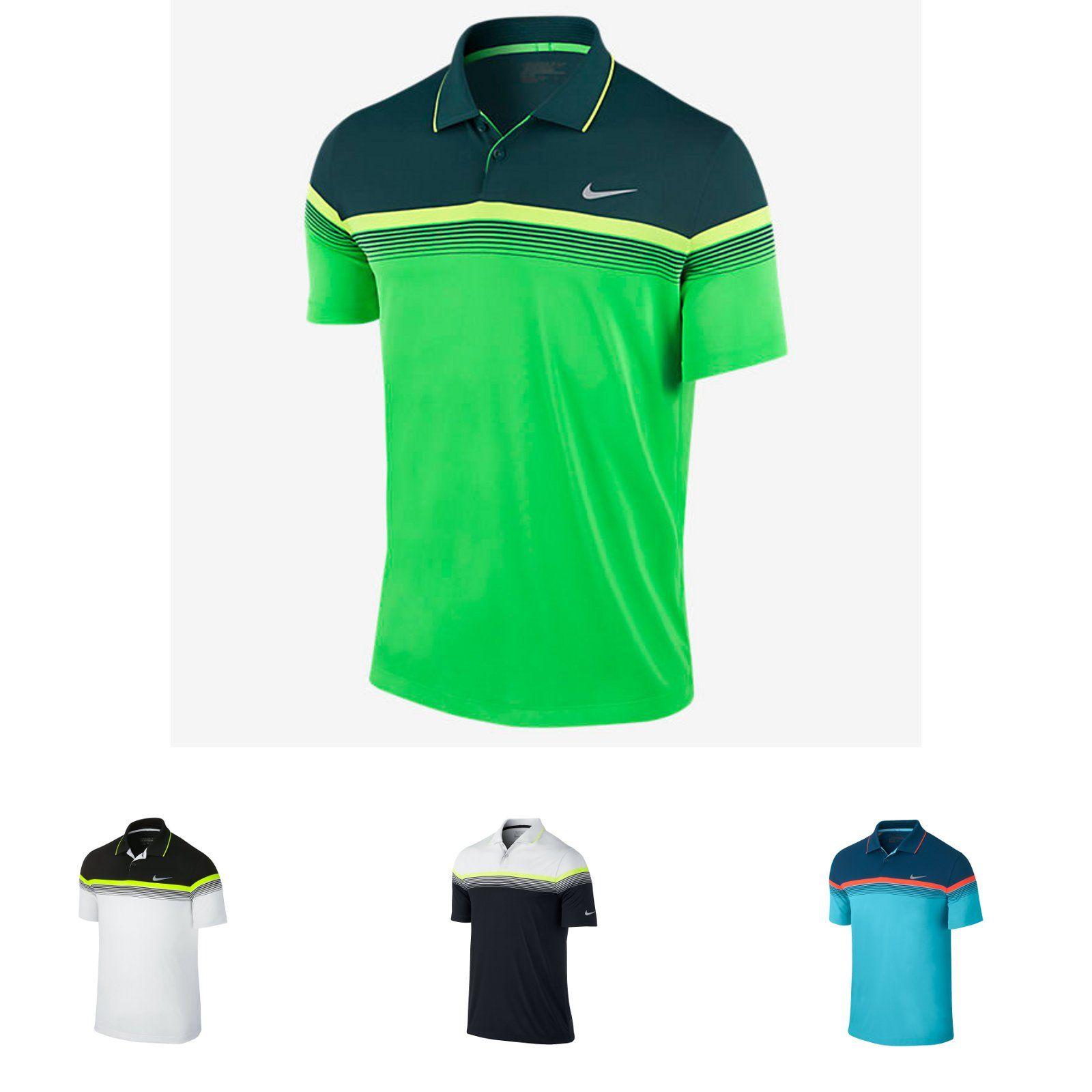 Más allá Odia tienda  Nike Modern Major Moment Golf Polo Shirt - | Golf polo shirts, Golf polo,  Polo