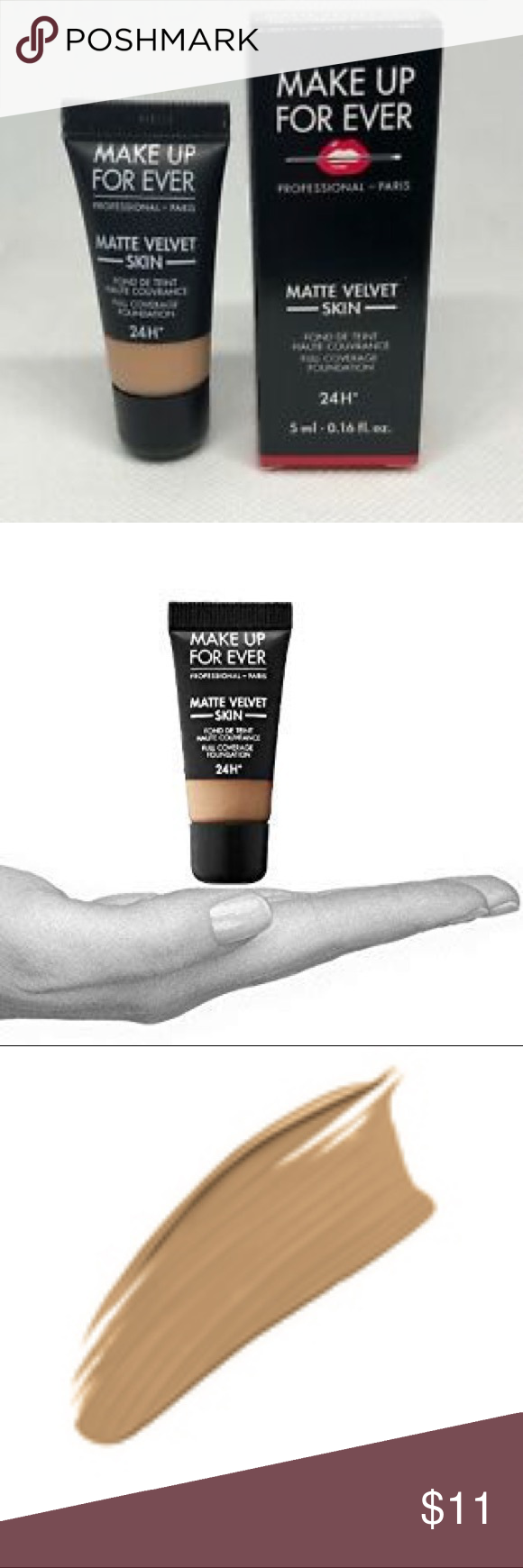 Make Up For Ever Matte Velvet Foundation Almond Make Up