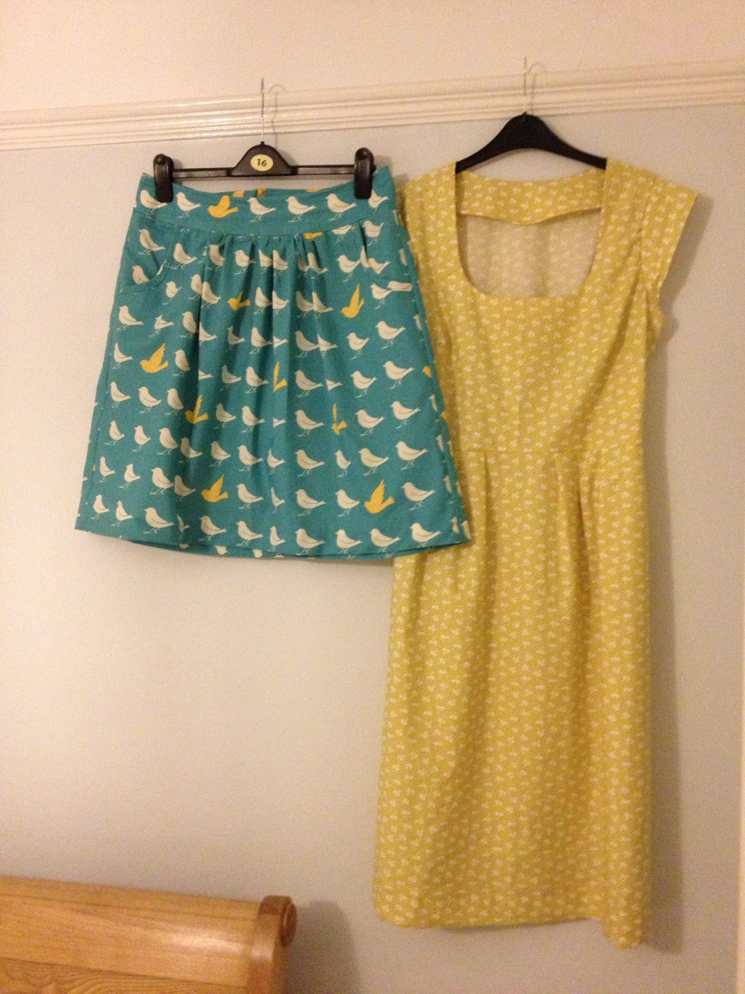 Simplicity 2226 and Washi dress - such adorable fabric and colours ...