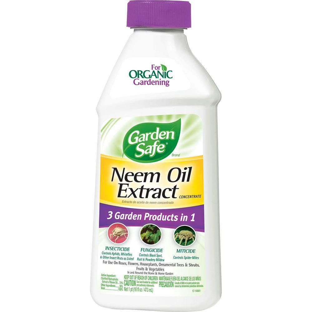Garden Safe 16 Oz. Neem Oil Extract Concentrate-HG-83179-2