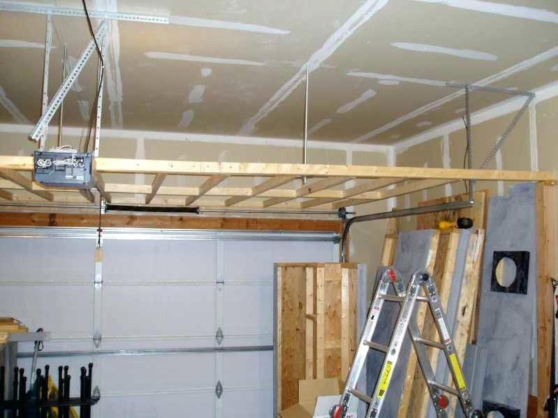 Ceiling Mounted Bicycle Storage Garage Storage Overhead Garage Storage Door Storage