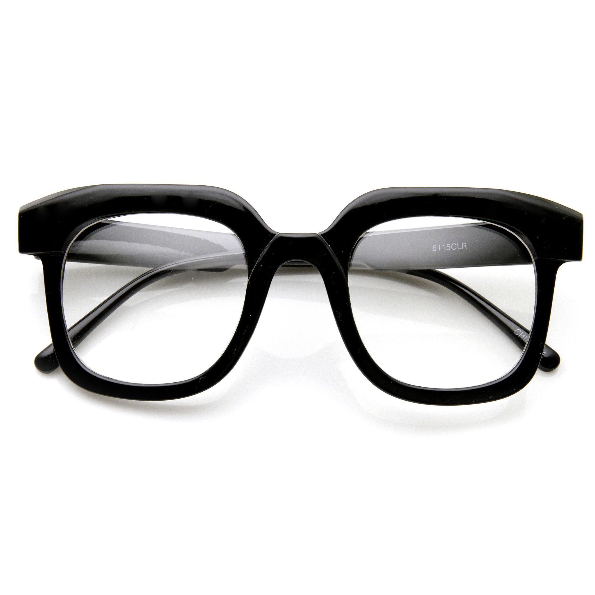 Men Women Hipster Eye Frame Clear Lens Fashion Glasses Retro Horn Rim Nerd Geek