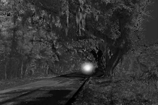 Spooky SC:  Lands End Light in Beaufort County