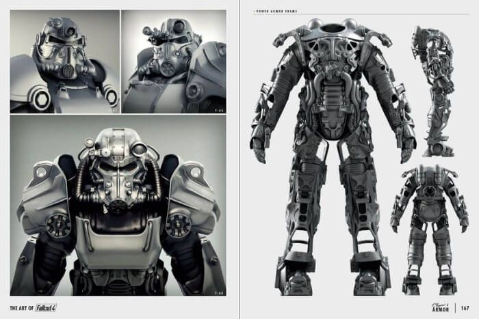 fallout 4 art book power armor suit costumes pinterest fallout