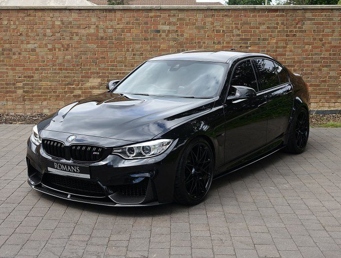 2017 Used Bmw M3 Competition Pack Bmw M3 Black Bmw Bmw M3