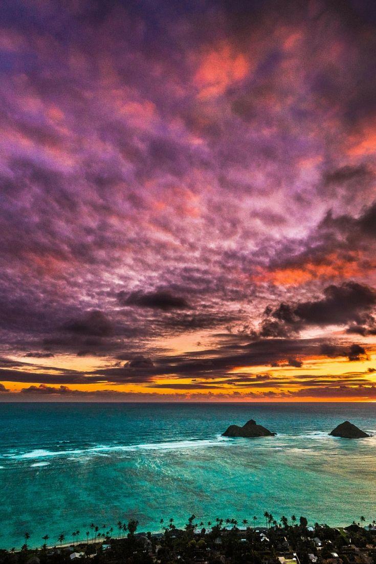 Na Mokulua Hawaii: LANIKAI BEACH PARK ON OAHU, HAWAII