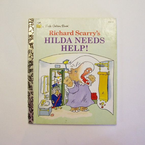 A Little Golden Book Richard Scarry's by MyForgottenTreasures, $3.00