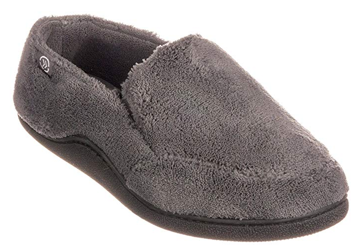 1fd8003bab3 ISOTONER Men s Microsuede Devin Slip On Slipper with with Cooling Memory  Foam for Indoor Outdoor Comfort