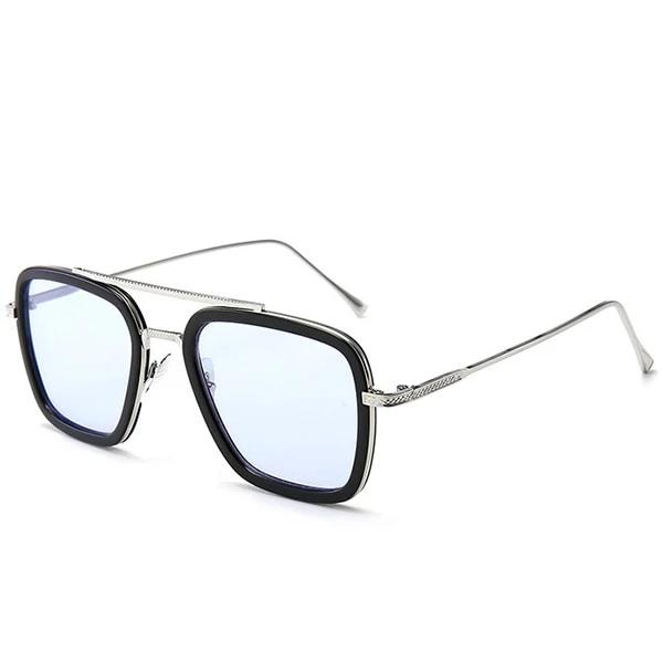 Fashion Square Tony Stark Glasses Benovafashion Men Sunglasses Fashion Glasses Fashion Glasses