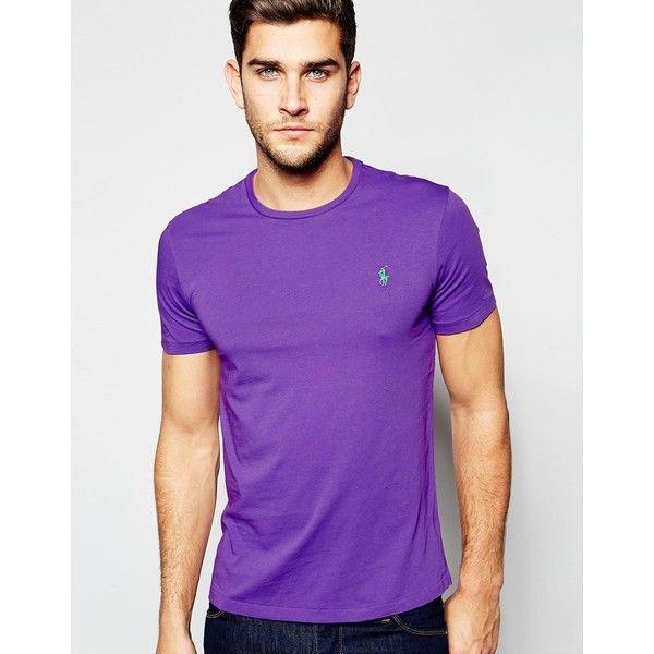 ralph lauren t shirt purple
