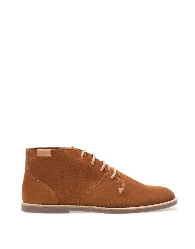 Botin Basico Serraje Zapatos Hombre Hombre Pull Espana Shoes Mens Dress Shoes Men Footwear