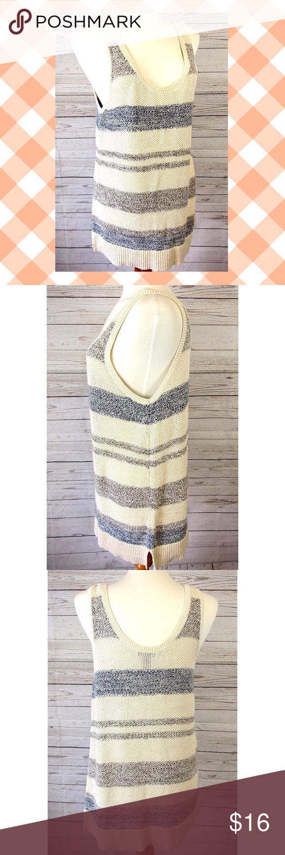 Gap Summer Sweater Tank Sz XL | Gap style, Summer sweaters and Gap ...