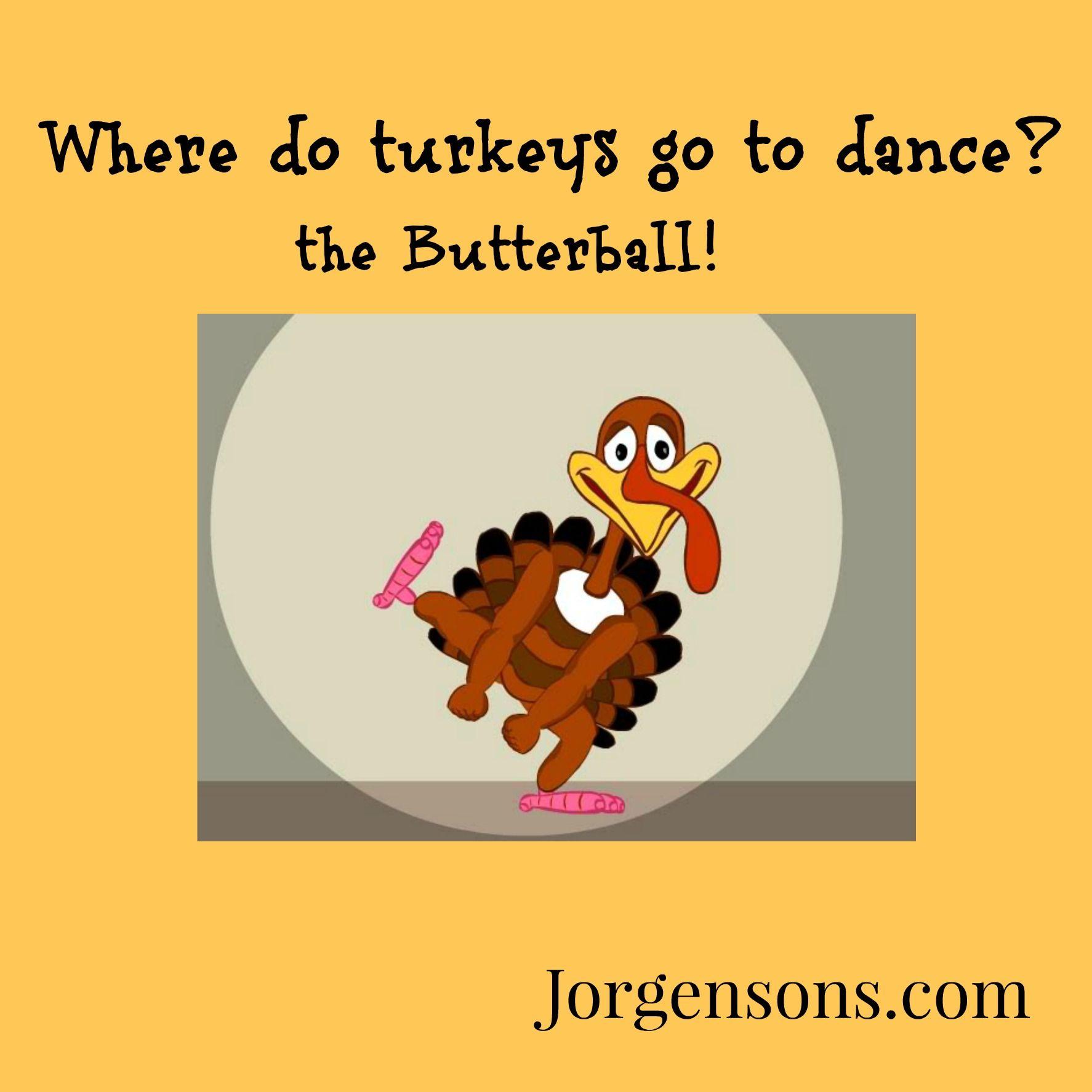 Dancing Turkey Thanskgiving Joke! Jokes for kids