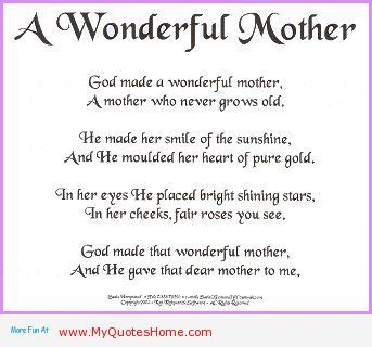 I Love My Brother Week | AWonderfulMotherPoem i love u mom