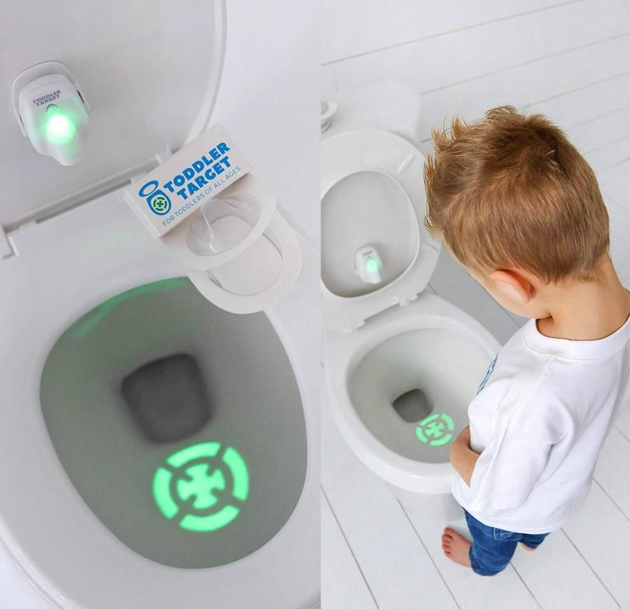 This Genius Target Toilet Light Helps Potty Train Your Kids Or Husband Potty Training Help Potty Training Tools Toddler Potty Training