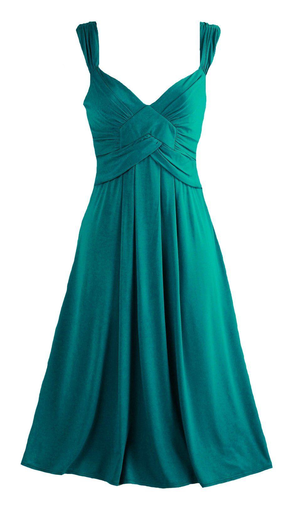 Ex M&S Per Una Teal V-Neck Midi Dress (14) | Jess\'s Wedding ...