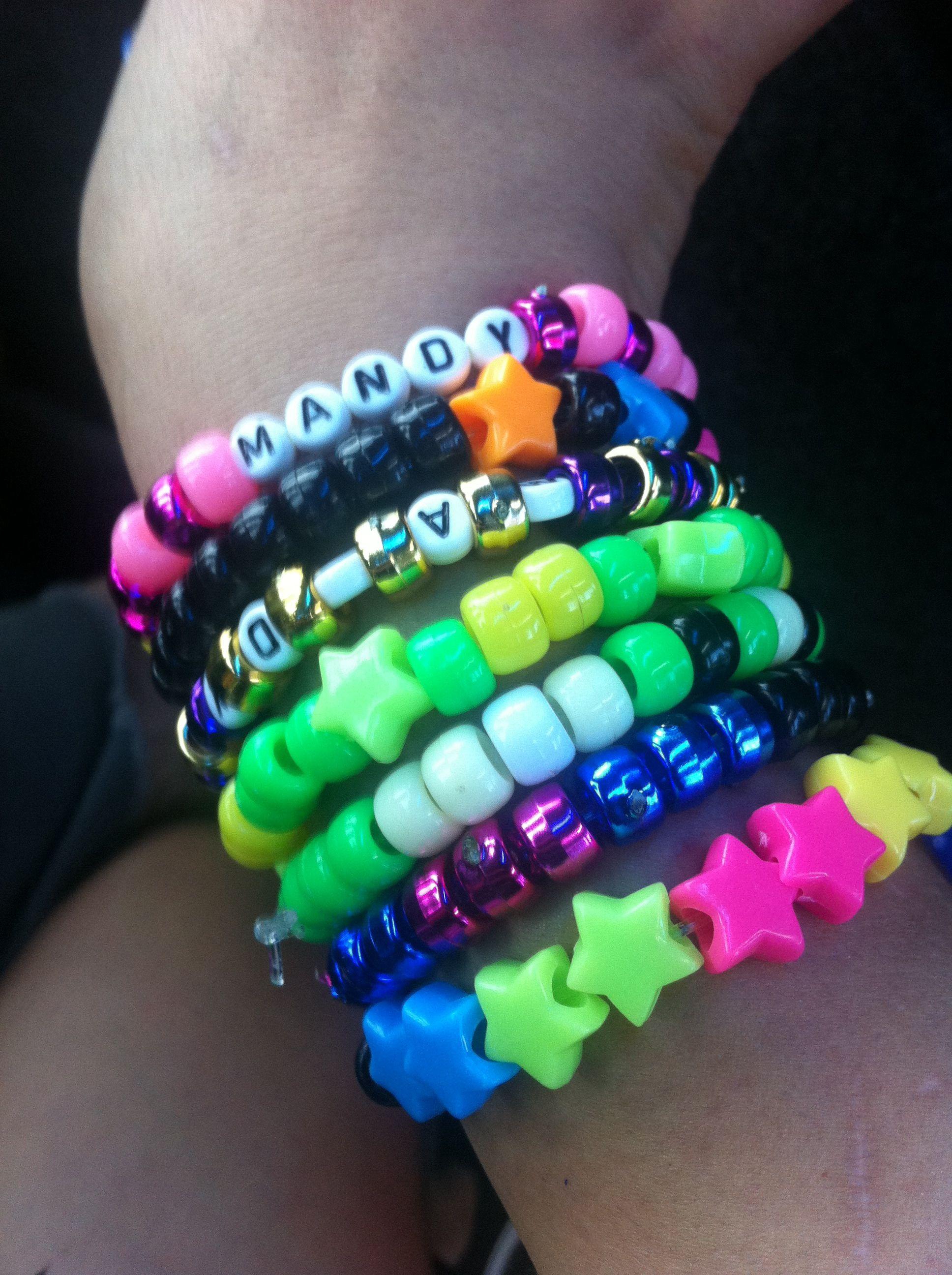 Kandi. | Kandi bracelets, Kandi kid, Rave bracelets
