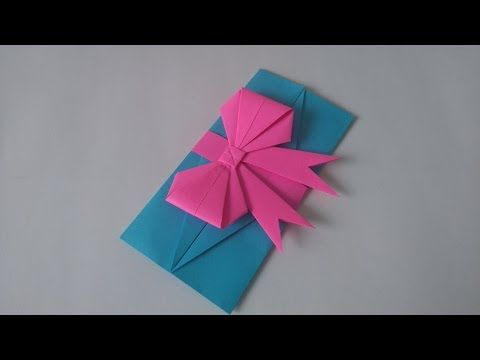 Origami Toys How To Make An Easy Origami Envelop Gift Card