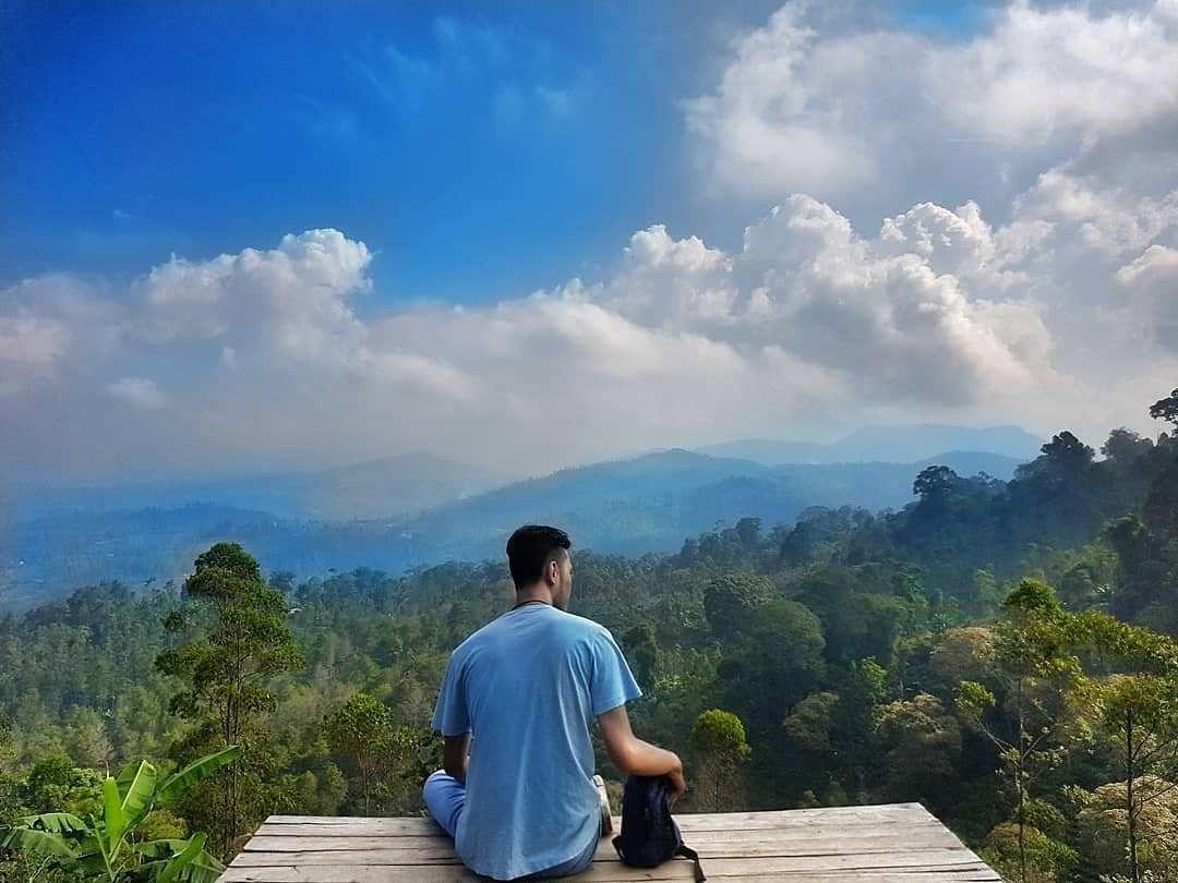 Kamojang Ecopark Garut Garut Trip Agent Pemandangan Rumah Pohon Tempat