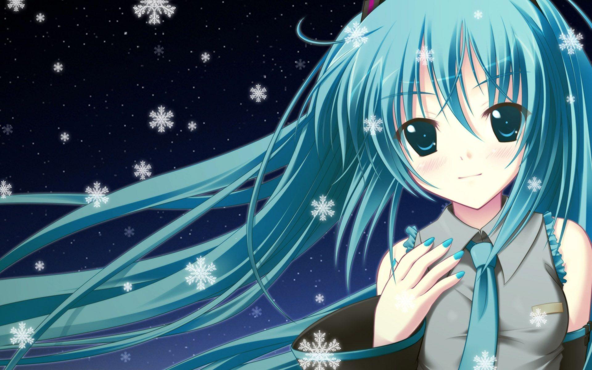 Miku Anime Anime Beginner Painting Simple Acrylic Paintings