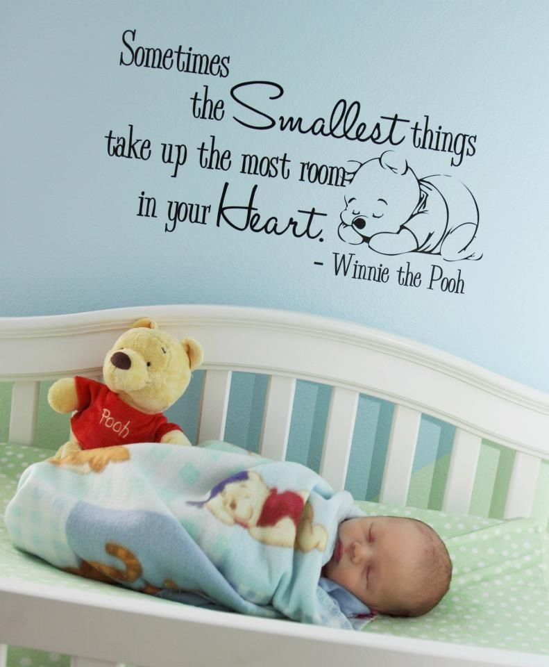 How precious this made me smile when i saw it winnie - Baby jungenzimmer ...