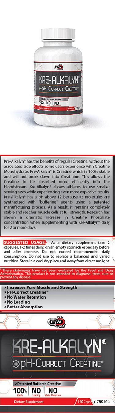 Kre Alkalyn Creatine Monohydrate Best Buffered Ph Correct No Water