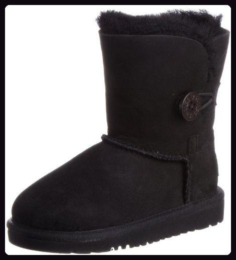 UGG Damen Bailey Button Stiefel, Schwarz (Nero), 31 EU - Stiefel für