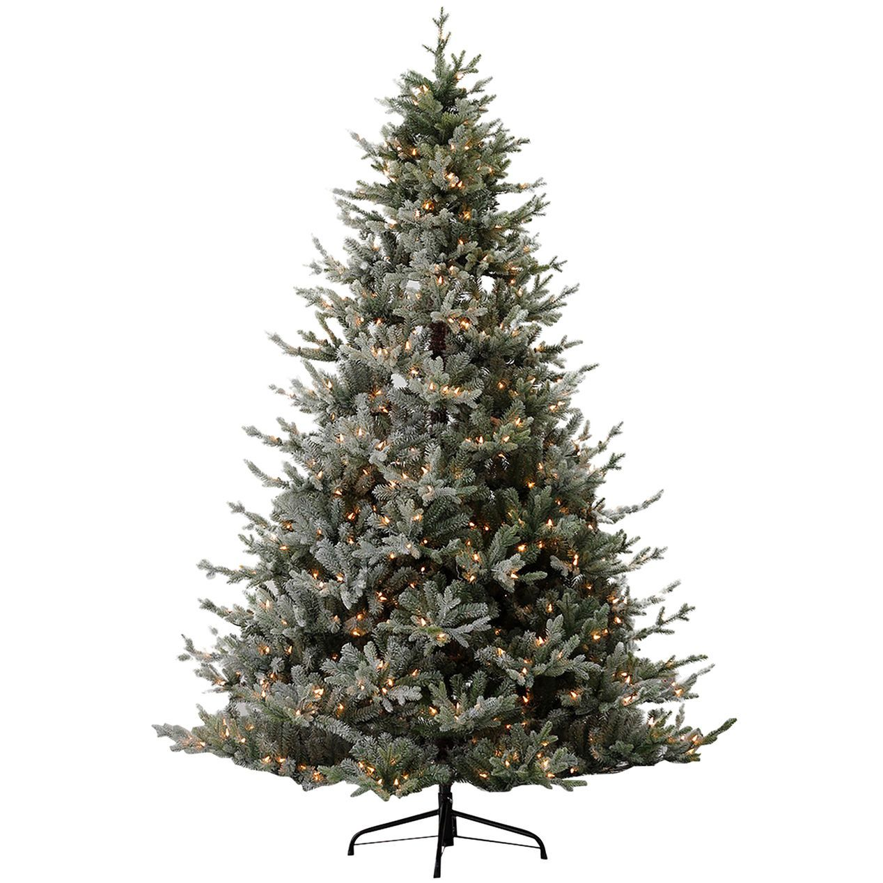 D23 7 5ft Pre Lit Clarence Frosted Christmas Tree At Home Best Artificial Christmas Trees Christmas Tree Frosted Christmas Tree