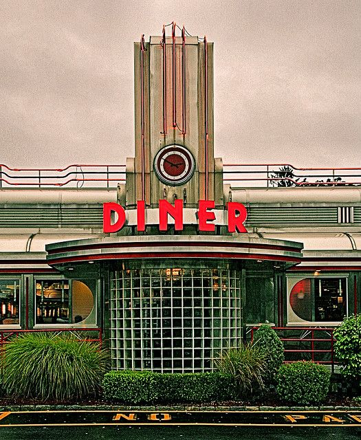 Diner Art Deco Buildings Art Deco Architecture Art Deco