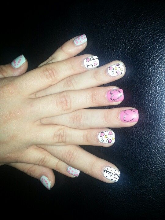 My Anniversary Nails Boyfriends Name And Date Nails