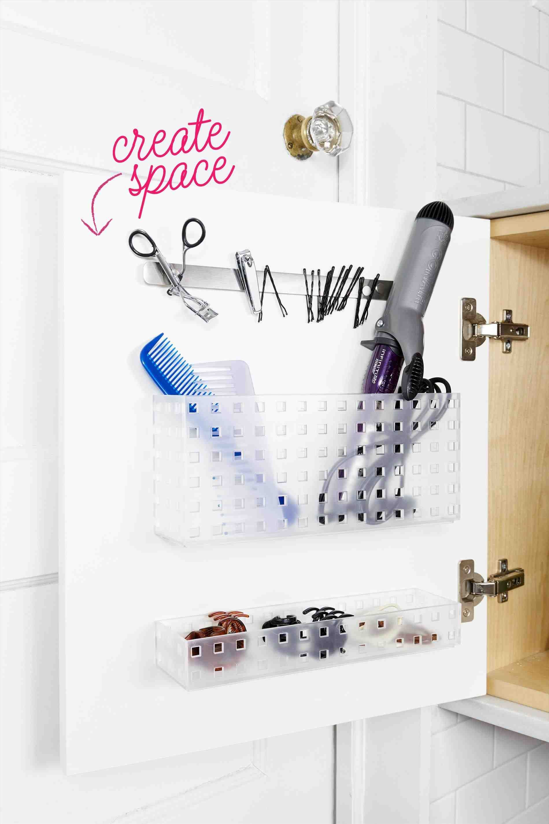 bathroom tray diy   Small bathroom storage, Home ... on Corner Sconce Shelf Tray id=58164