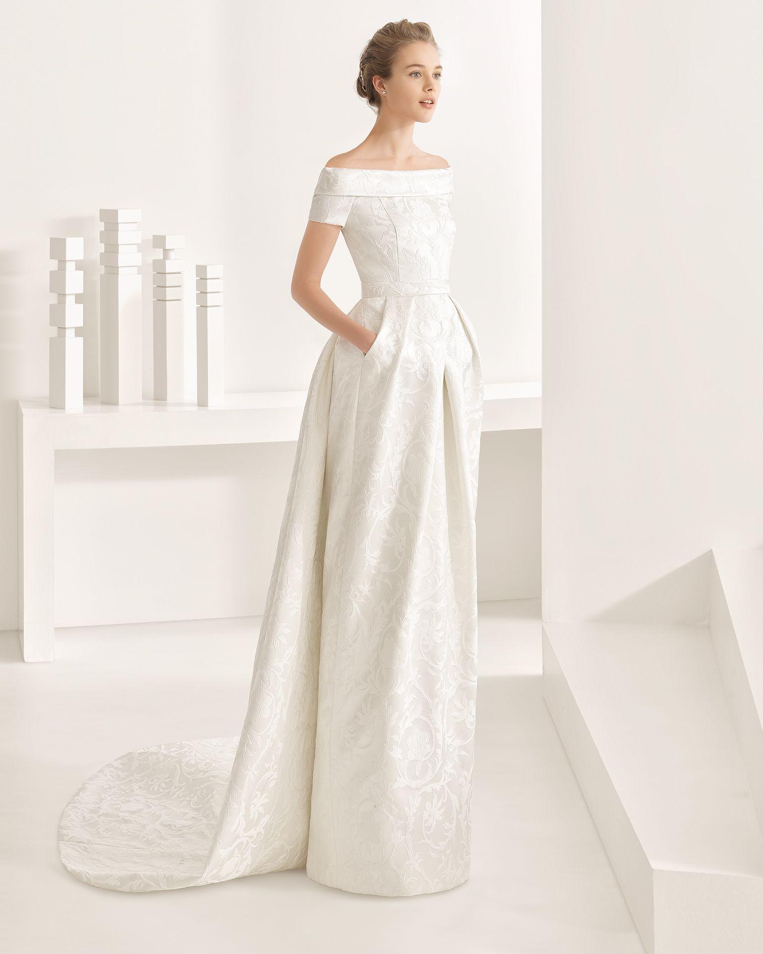 Nambia - 2017 Bridal Collection. Rosa Clará. | Pinterest | Wedding ...