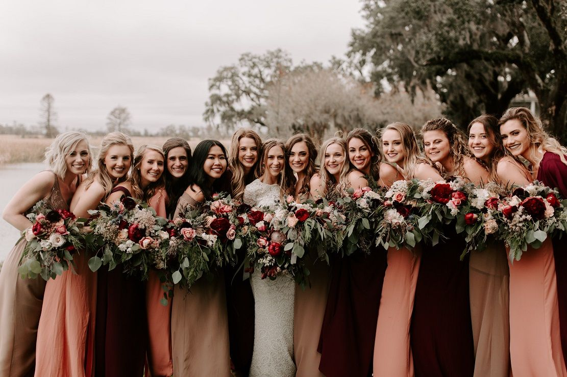 Bohemian Inspired Wedding At Caledonia Golf Fish Club Myrtle